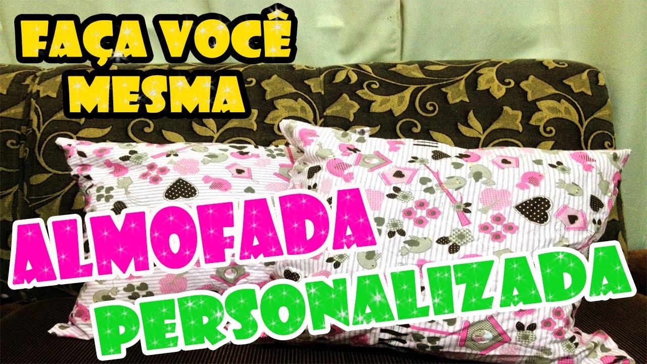 (DIY) FAÇA VOCÊ MESMA:Almofada Personalizada(Super rápido e fácil) | SistersForever VB