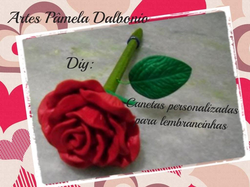Diy: Personalize canetas para lembrancinhas em geral