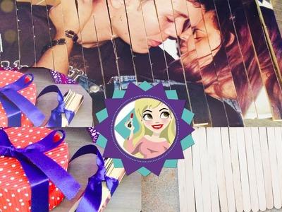 DiY Quebra cabeça de foto com Palitos de Picolé - Dias dos Namorados|Tatiane Xavier