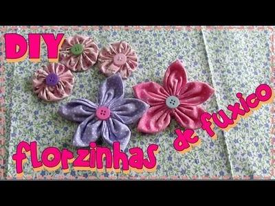 #17 - JULHO todo dia - DIY -   Flores de fuxico