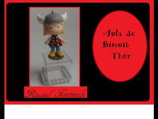 DIY- Aula de biscuit - Lembrancinha do THOR - Raquel Fontinele