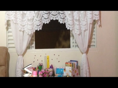 DIY: como fazer um prendedor de cortina