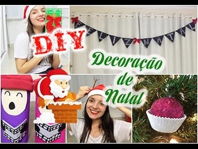 DIY: Decoração de natal ♥