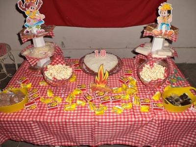 DIY Decoração Festa Junina