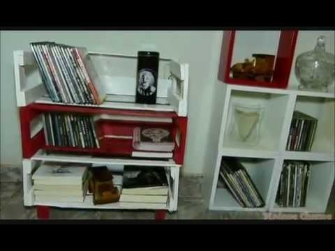 MINI ESTANTE DE CAIXOTE DE FEIRA-DIY