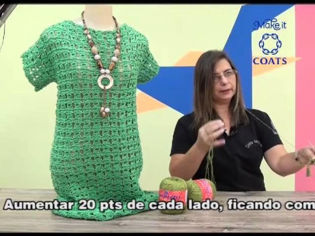 Artesanato com Cristina Amaduro - Vestido Gabriela
