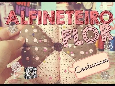 DIY | Alfineteiro flor ♥