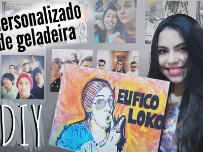 DIY: Ímã de fotos do Instagram + presente loko | Andressa Moraes