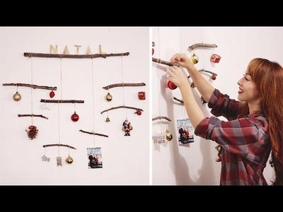 DIY MÓBILE DE GALHOS SECOS | Especial de Natal