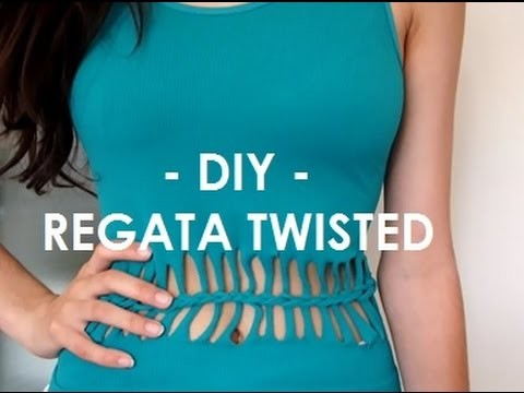 DIY - REGATA.BLUSA TWISTED