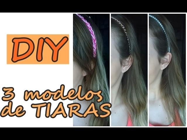 DIY: TIARAS DE CABELO