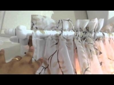 DIY: 2 parte cortina varão.