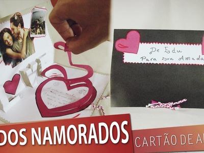 DIY Cartão para o Dia dos Namorados | Aprenda com Edu