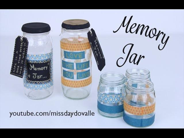 DIY Memory Jar - Jarra de Memórias