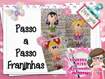(DIY) PASSO A PASSO FRANJINHAS PARA MAGRELINHAS CANETAS E PONTEIRAS SLIDE