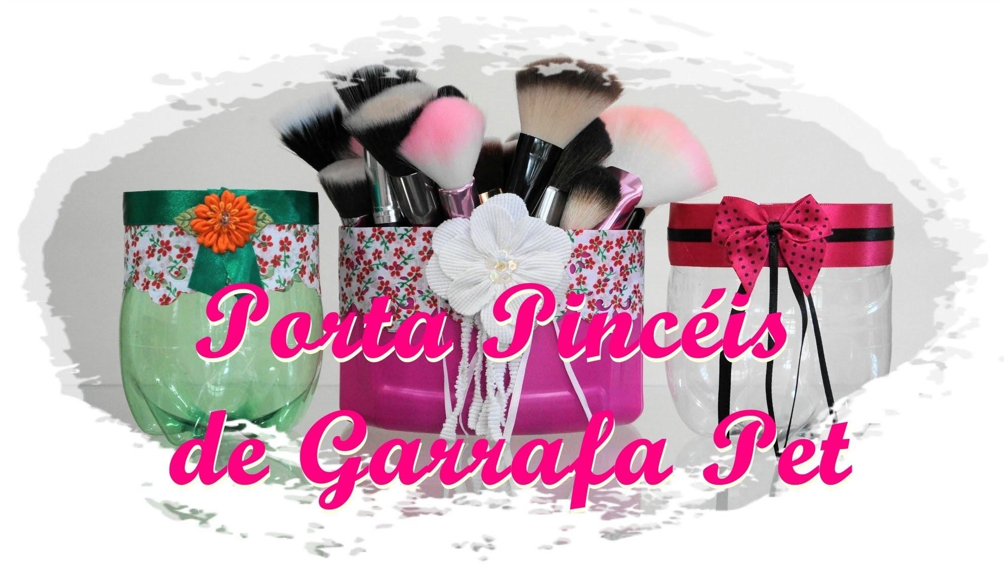 DIY | Porta Pincéis de Garrafa Pet