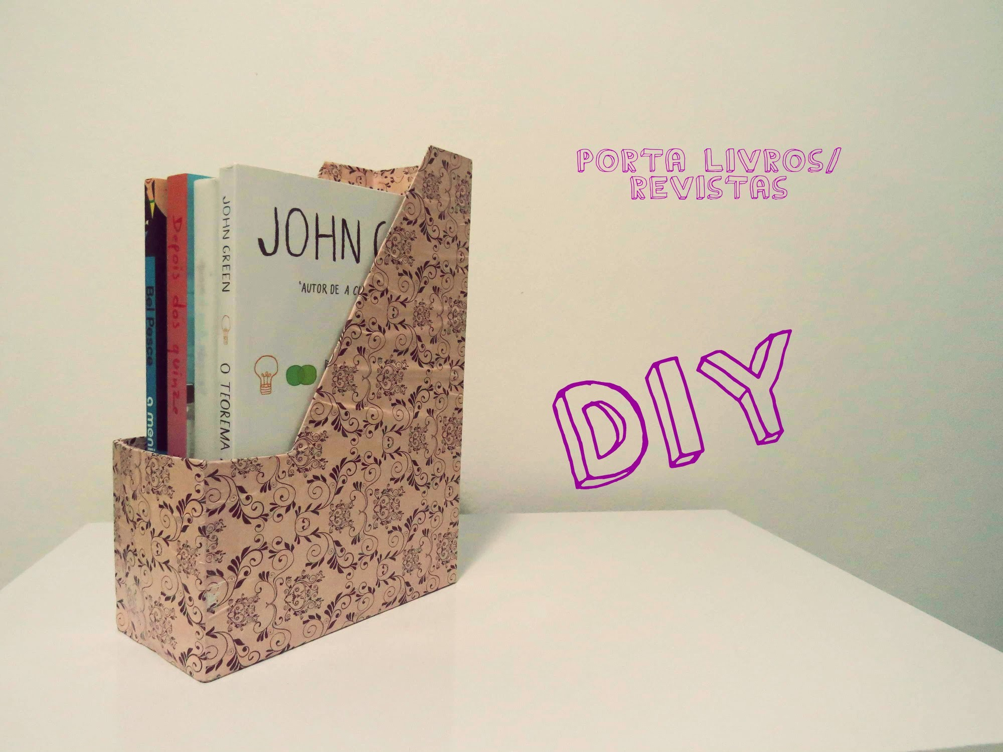 DIY - Porta Revistas.Livros - Magazine Holder