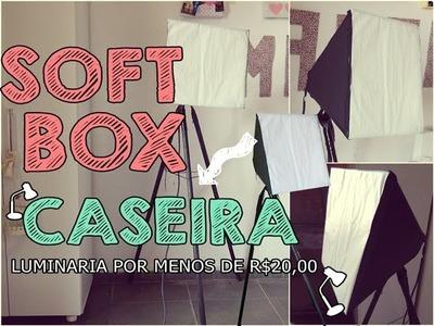 DIY : Softbox caseira ♥