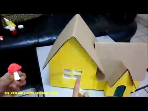DIY: Casa dos 7 anões - Tema Branca de Neve | Poliana Souza