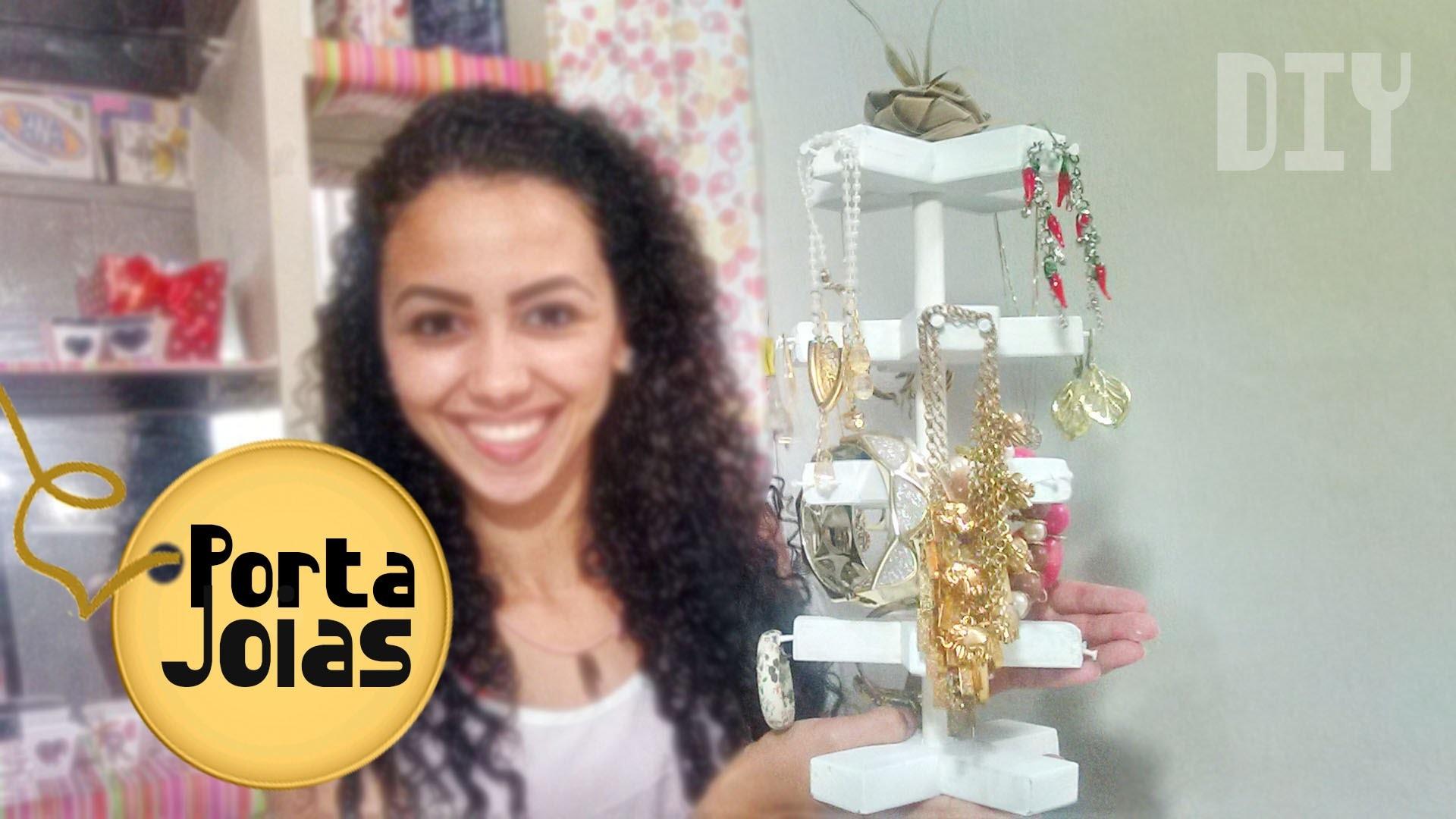 DIY - Criando Porta-Jóias EXCLUSIVO #VEDA2