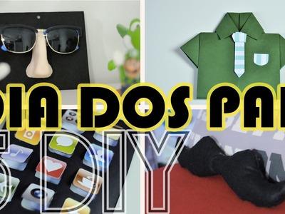 DIY DIA DOS PAIS - 5 Dicas de Lembrancinhas para o dia dos pais | Projeto DIY