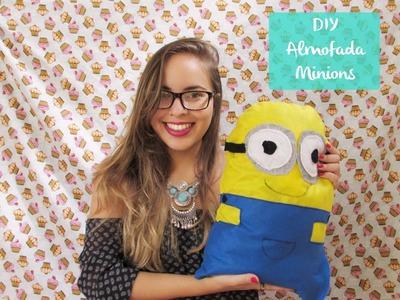 DIY- Almofada Minions -- Minions cushion