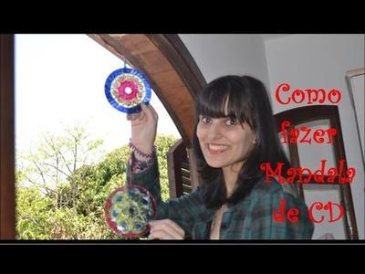 DIY | Como fazer uma mandala de CD