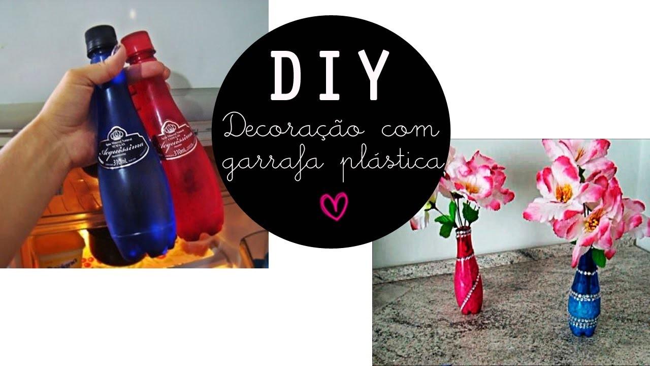 DIY Decoração com Garrafa Plástica