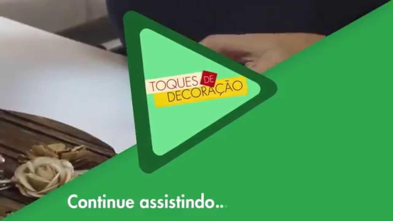 TOQUES DE DECORAÇÃO #1 | DIY - PINTURA EM PÁTINA