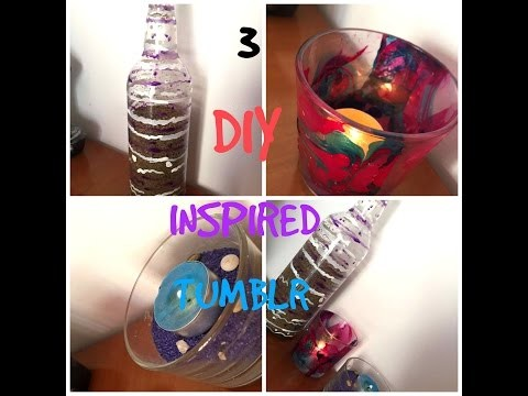 3 DIY Room Decor! Tumblr Inspired Room Decorations!