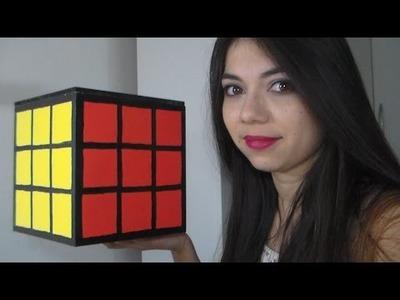 Cubo Mágico Gigante DIY FAÇA VOCÊ MESMA