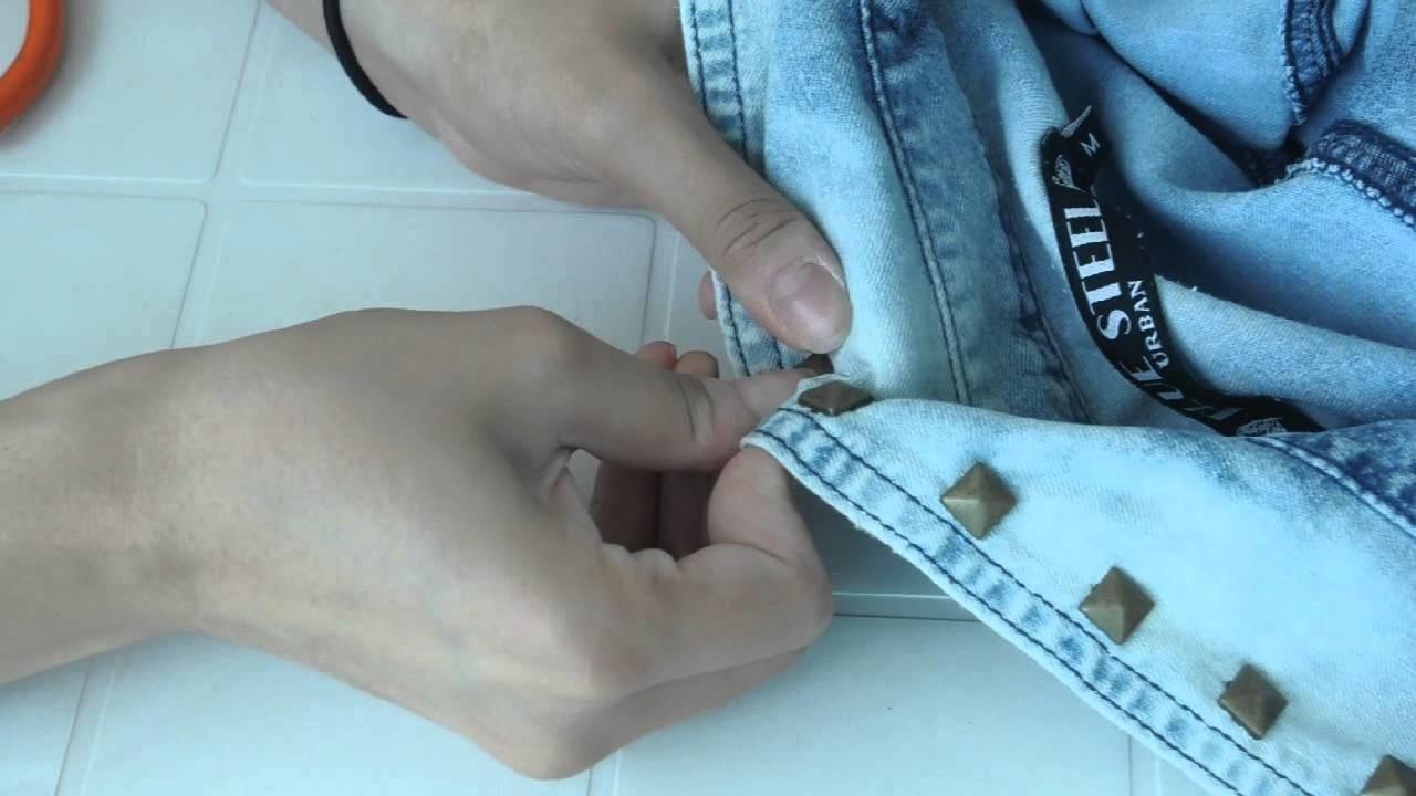 DIY - Custumizaçāo Ombré Jeans | Vai Nessa