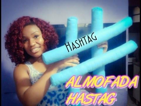 Diy Almofada Hashtag