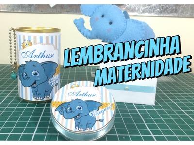 DIY | Como fazer sacolinha para Lembrancinha de maternidade