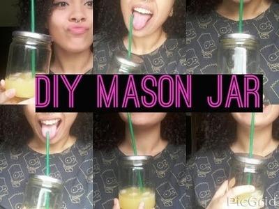 DIY MASON JAR. COPO JARRA