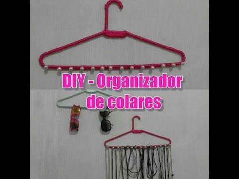 DIY   Organizador de  Colares