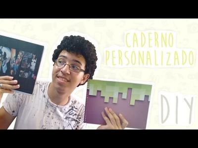 Igor Gabriel - DIY - Personalizando Caderno