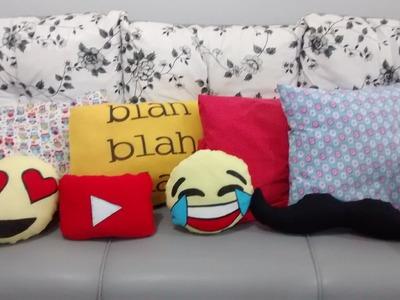 DIY Almofadas divertidas