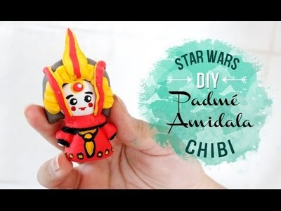 DIY PADME AMIDALA CHIBI ❤ DIY STAR WARS