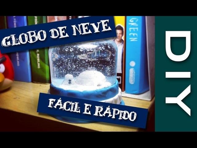 Como fazer um Globo de Neve (Fácil e Rápido) | DIY