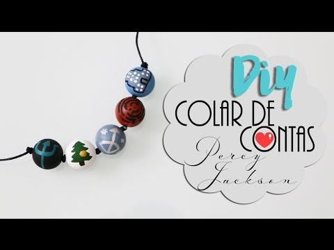 DIY: Colar de contas - Percy Jackson | Acampamento Meio-Sangue