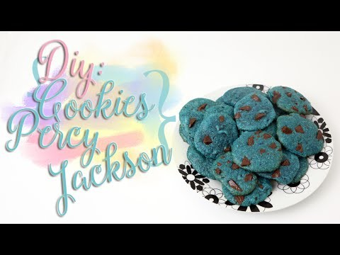 DIY: Cookies Percy Jackson - Comida Azul! ♥ Cozinha Geek