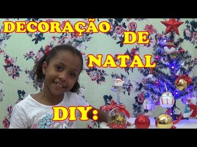 DIY: DECORAÇÃO DE NATAL!!!