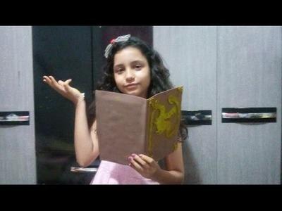 DIY:livro de feitiços da Mal!#6daysdescendants