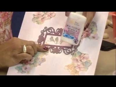 Programa Artesanato sem Segredo - Reciclagem de caixa pinus