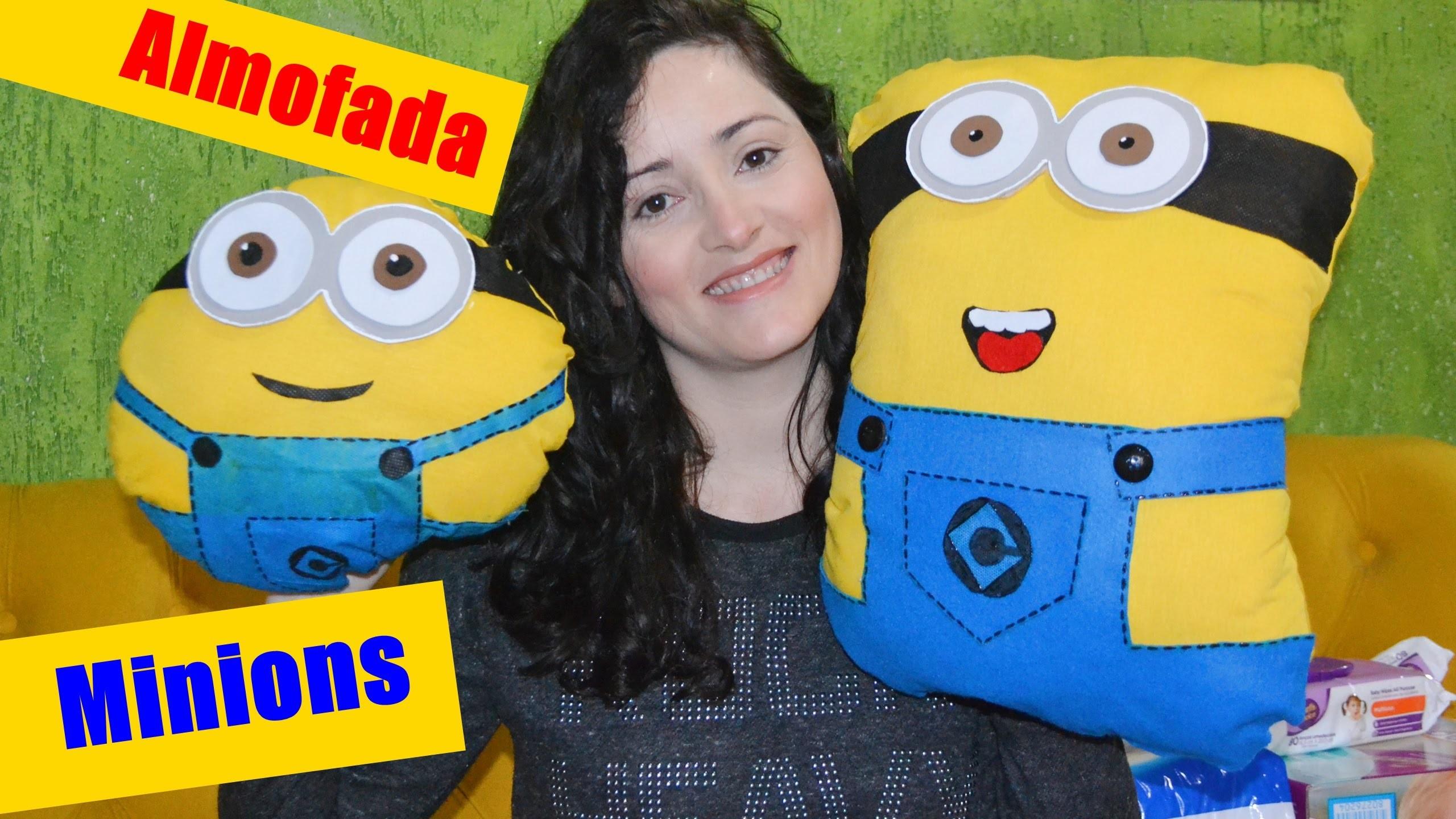 Almofada de Minions. DIY Dia das Crianças I Ana Gigoski