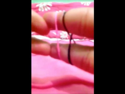 DIY-Como Fazer Pulseirinhas de Elásticos