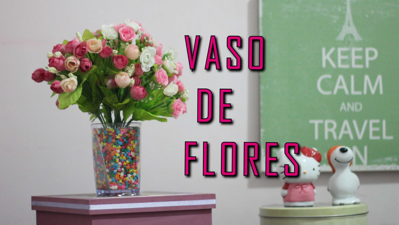 Faça você mesma : DIY:: VASO DE FLORES + FLOR DE E.V.A