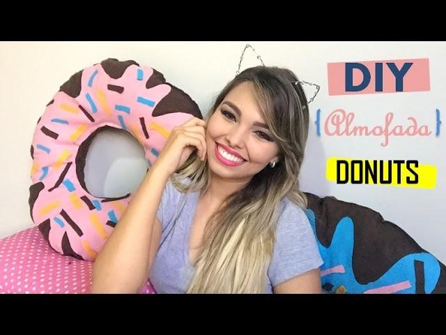 DIY Almofada de Donuts   Faça você mesma!