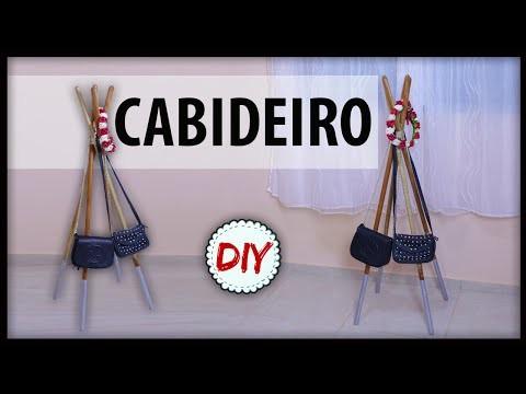 Diy: CABIDEIRO feito com Cabo de Vassoura #2